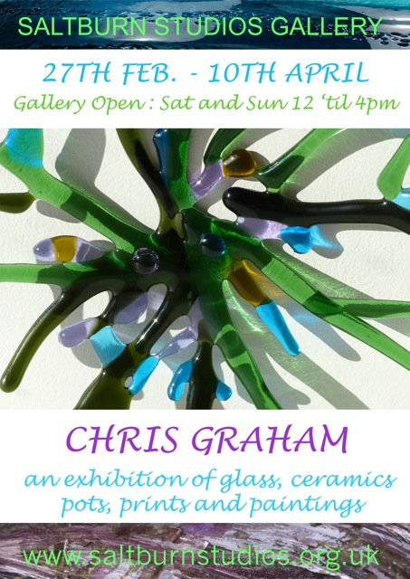 Christine Graham exhibition poster